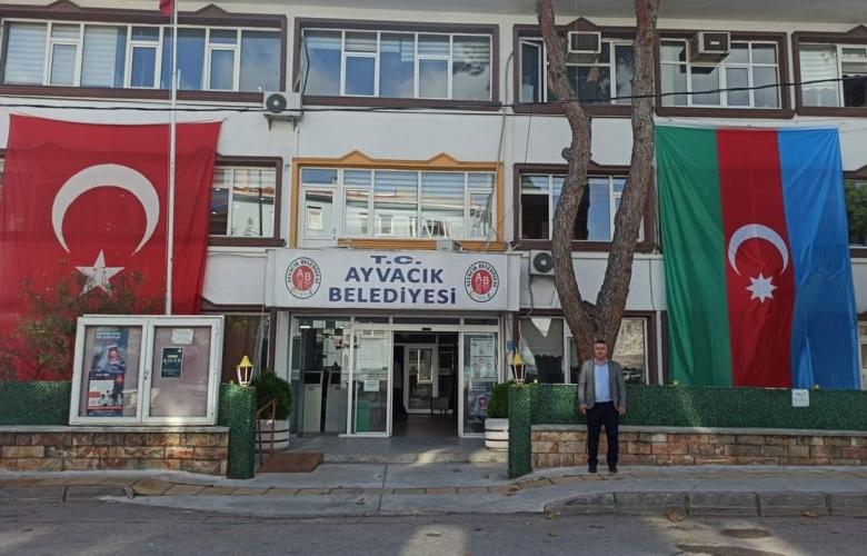 AYVACIK BELEDİYESİ'NDEN KARDEŞ AZERBAYCAN'A DESTEK