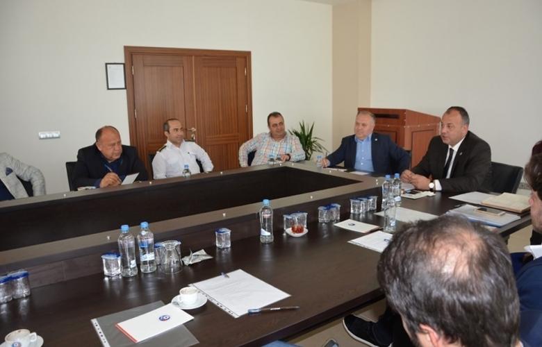 ÇTSO mayıs ayı komite başkanları toplantısı yapıldı