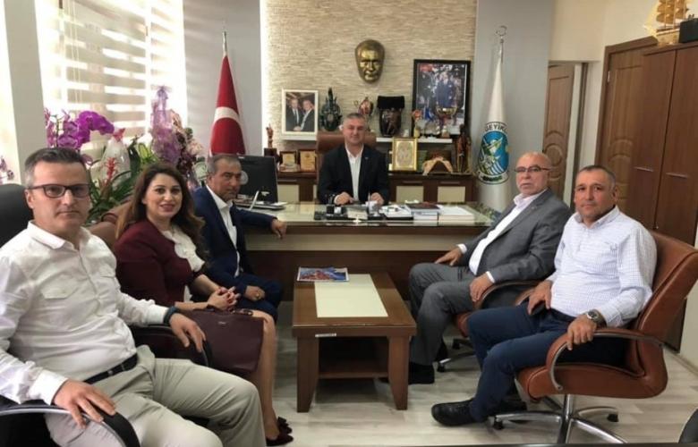 Çanakkale Ticaret Borsası Ezine'de resmi ziyaretler