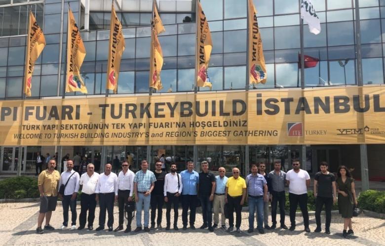 ÇTSO üyeleri 42. TURKEYBUILD İstanbul Yapı Fuarında