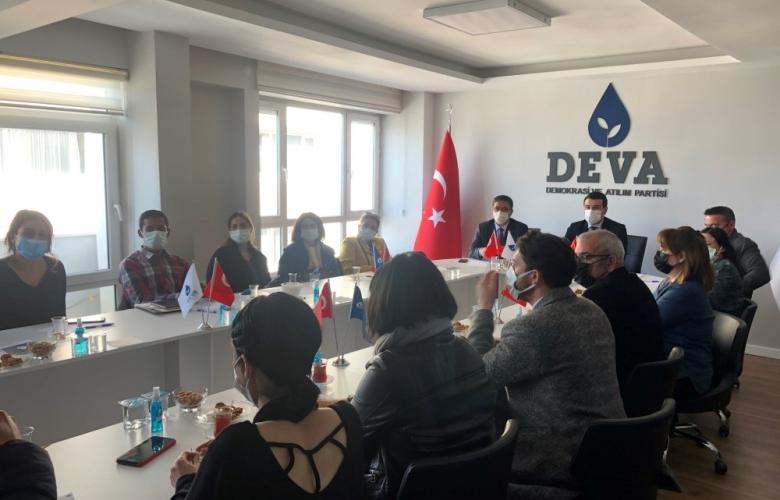 CHP' DEN DEVA PARTİSİNE ZİYARET