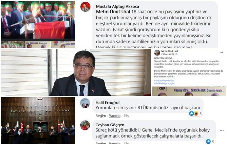 CHP' DE URAL  KRİZİ